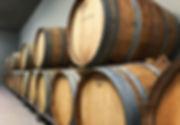 Algueira wine barrels, oak, wines, vino