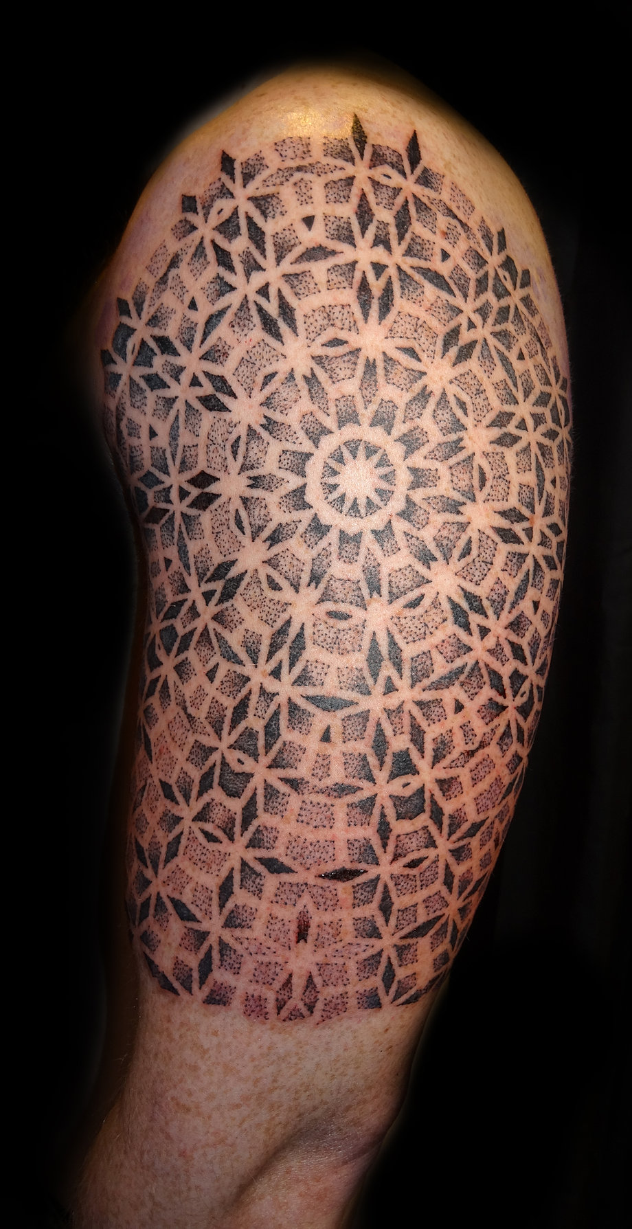Dot work and geometric tattooing by fade fx for How to fade a tattoo