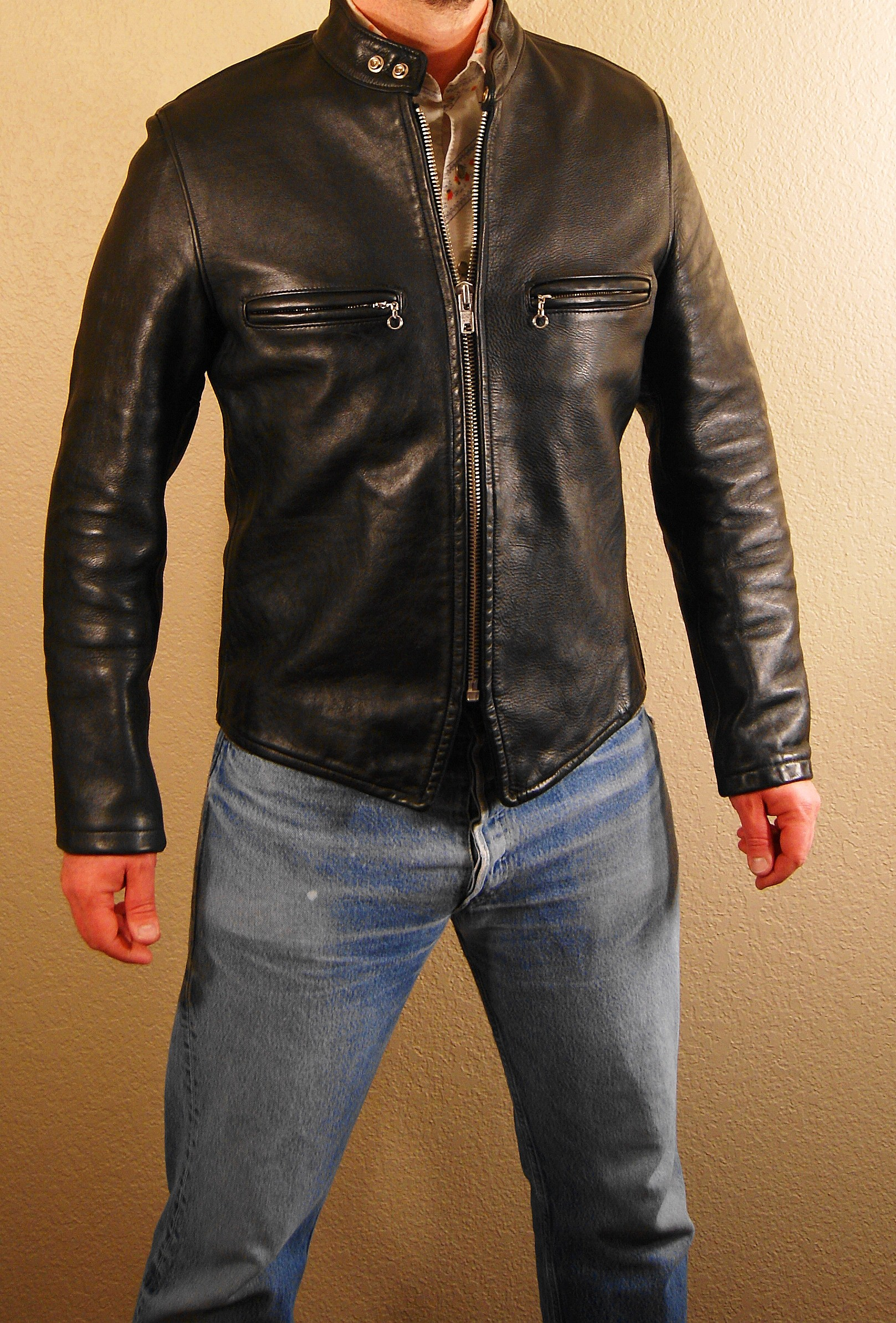 Cafe Racer Leather