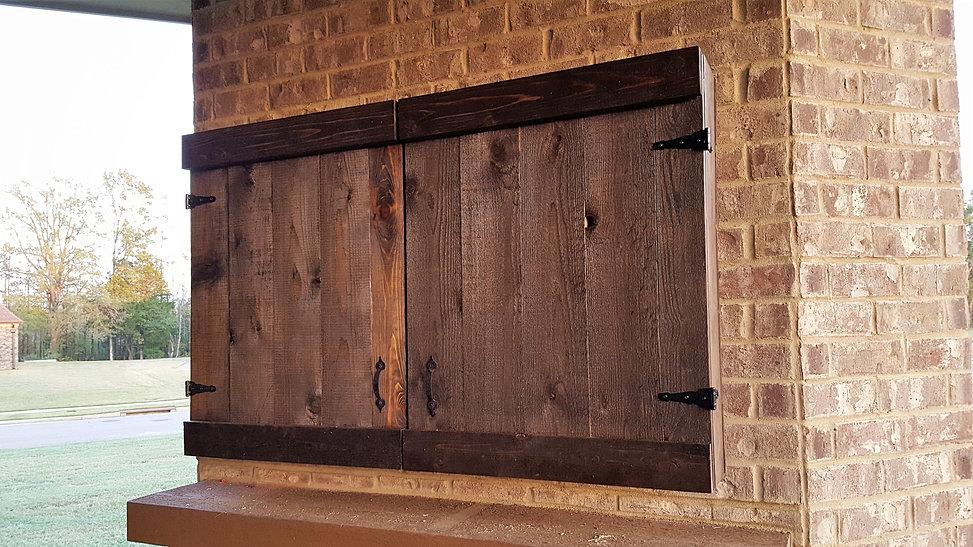 d k woodworks custom outdoor tv cabinets. Black Bedroom Furniture Sets. Home Design Ideas