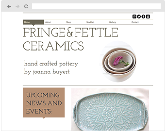 Fringe and fettle Ceramics