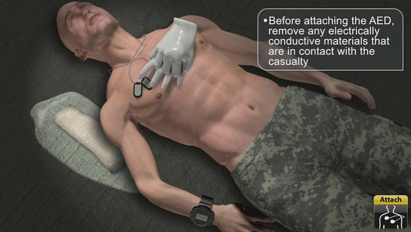 Military Training App- AED