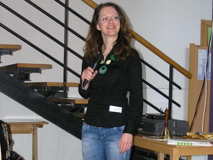 Katja Bradač: Goethe-Tour 2011
