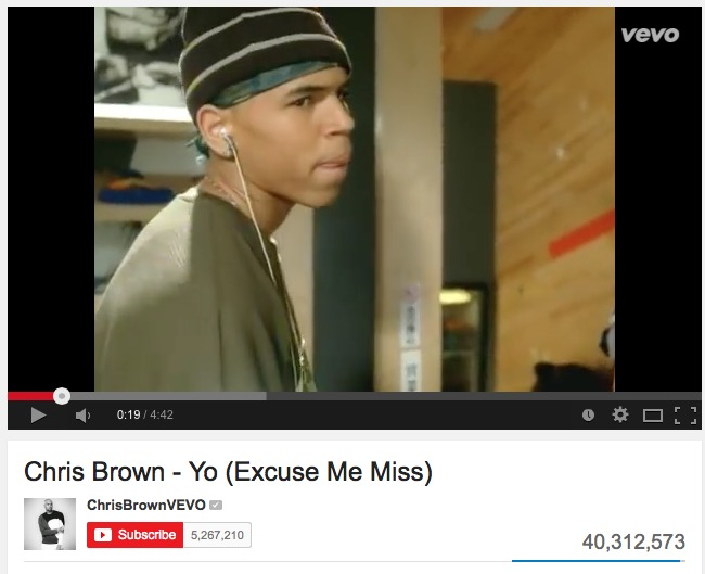 chris brown excuse me miss