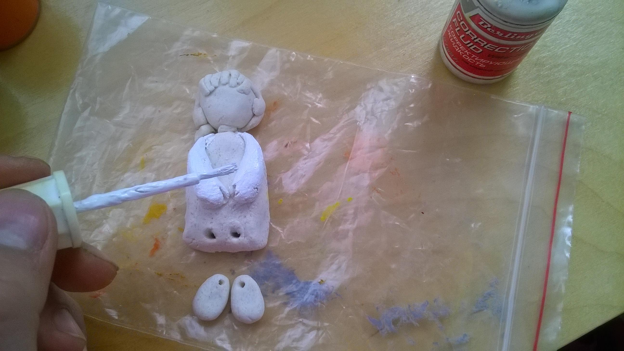 Мастер класс из соленое тесто для поделок 210