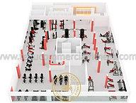Gym Equipment Design, Health Club Design