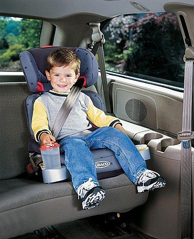 como usar a cadeira para criança no carro