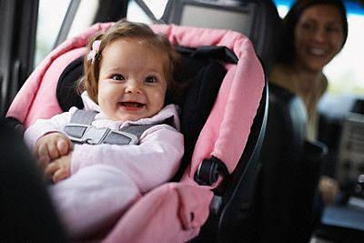 melhor forma de usar o bebê conforto