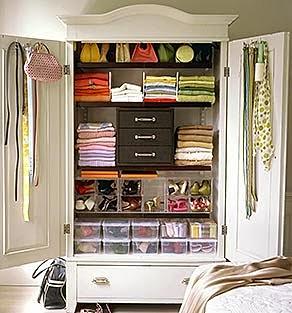 10 dicas para organizar seu armário