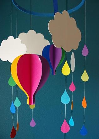 Ideias para decorar o quarto do bebê com tema nuvens