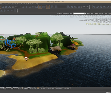 Portfio for Cryengine 3 architecture