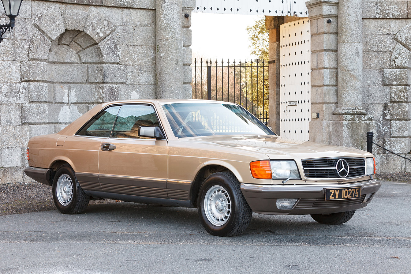Mercedes benz 500 sec for sale w126 c126 for C 500 mercedes benz for sale
