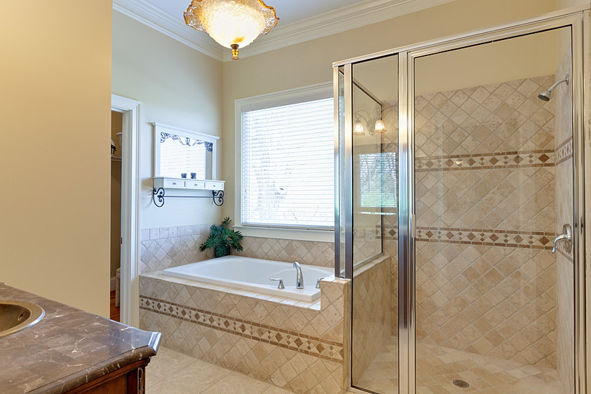 The Bella House Master Bathroom