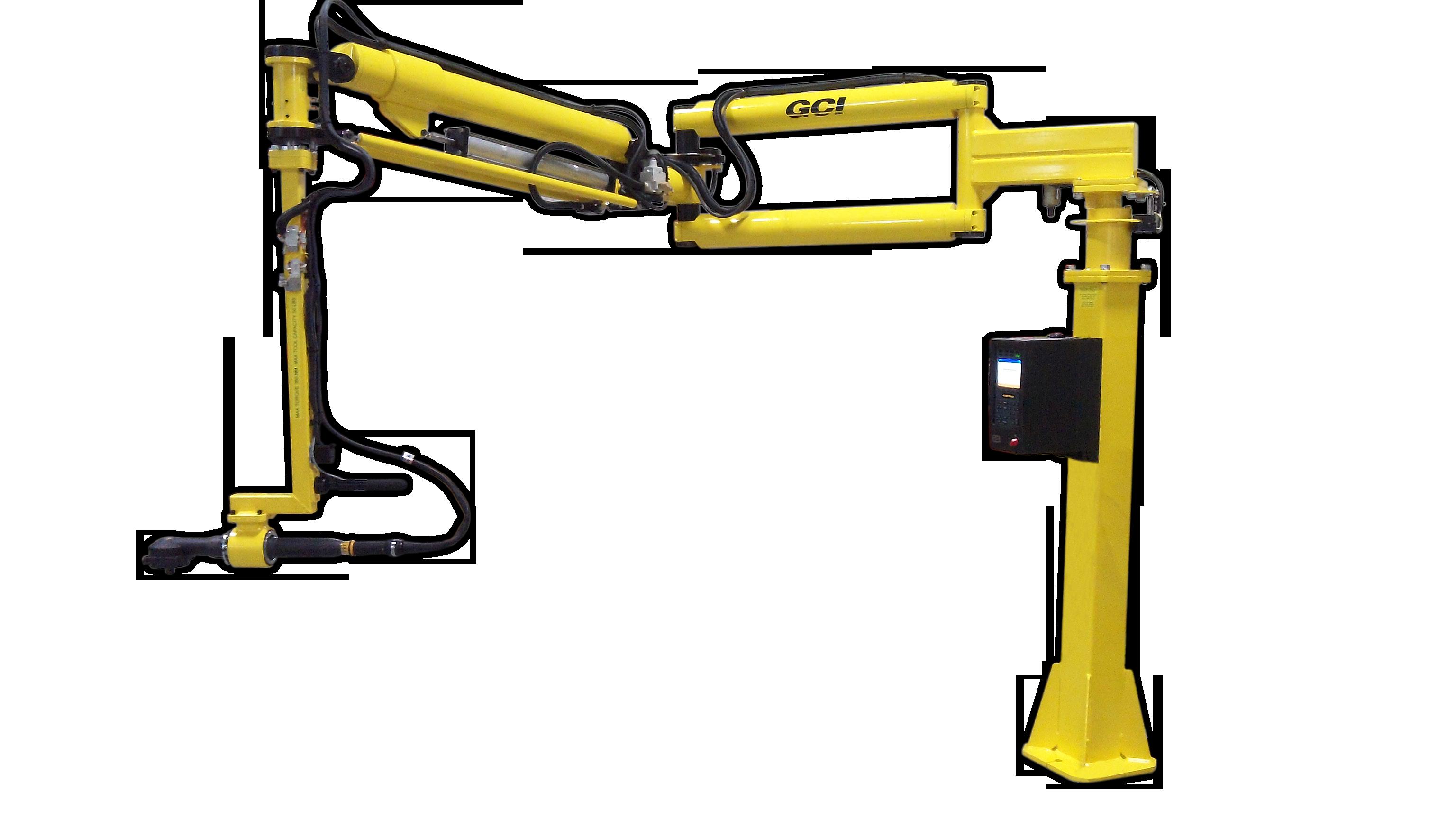 Gci Torque Arm : Gci custom material handling torque reaction systems