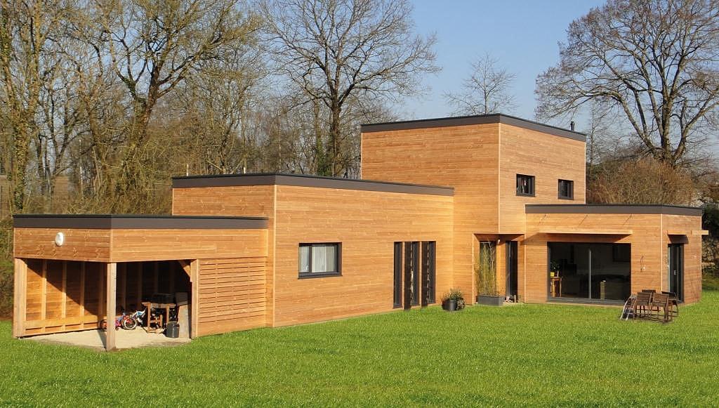 Fabricant de maisons à ossature bois et constructions  ~ Maison Modulaire Bois