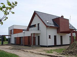 fabricant de maisons ossature bois de pologne r alisations. Black Bedroom Furniture Sets. Home Design Ideas