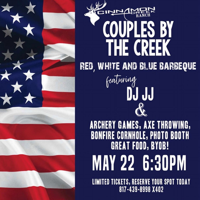 Couples by the Creek Red_White_Blue BBQ