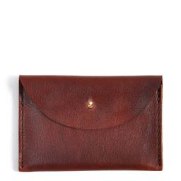 Eddie Handmade: W13 Wallet in Russet | Accessories,Accessories > Wallets -  Hiphunters Shop