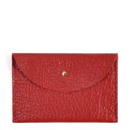 Eddie Handmade: W13 Wallet in Red | Accessories,Accessories > Wallets -  Hiphunters Shop
