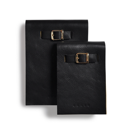Eddie Handmade: Notepad In Black gift set | Accessories,Accessories > Others -  Hiphunters Shop