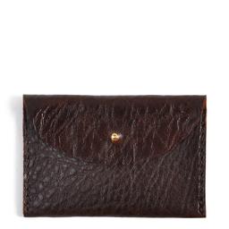 Eddie Handmade: W13 Wallet in Chocolate Brown   Accessories,Accessories > Wallets -  Hiphunters Shop