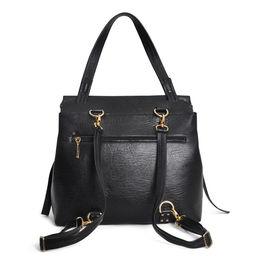Eddie Handmade: HIGHCLERE Backpack in Black Ostrich | Bags -  Hiphunters Shop