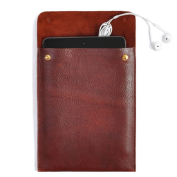 Eddie Handmade: TC13 Mini Tablet Case in Russet | Accessories,Accessories > Technology -  Hiphunters Shop