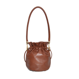 Eddie Handmade: Anna Mini Bucket in Honey Brown | Bags -  Hiphunters Shop