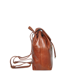 Eddie Handmade: Caxton Backpack in Russet | Bags -  Hiphunters Shop