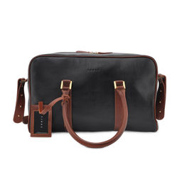 Eddie Handmade: Bader Holdall in MIX Small (leather lining) | Bags,Bags > Travel Bags -  Hiphunters Shop