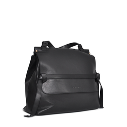 Eddie Handmade: HIGHCLERE Backpack in Black | Bags -  Hiphunters Shop