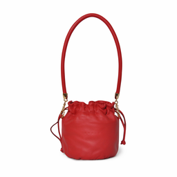Eddie Handmade: Anna Mini Bucket in Red - Hiphunters Shop