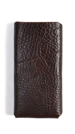 Eddie Handmade: i13 iPhone case in Chocolate Brown | Accessories,Accessories > Technology -  Hiphunters Shop