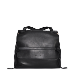 Eddie Handmade: HIGHCLERE Backpack in Black - Hiphunters Shop