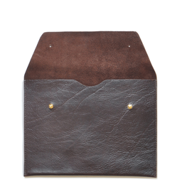 Eddie Handmade: EP13 Envelope Pouch in Chocolate Brown | Accessories,Accessories > Others -  Hiphunters Shop