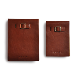 Eddie Handmade: Notepad In Honey Brown gift set | Accessories,Accessories > Others -  Hiphunters Shop