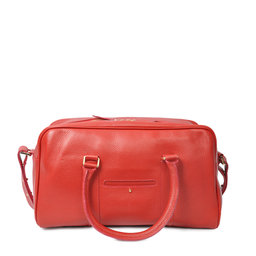 Eddie Handmade: Bader Holdall in Red - Small | Bags,Bags > Travel Bags -  Hiphunters Shop