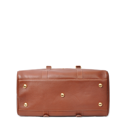 Eddie Handmade: Bader Holdall Textured Brown - Medium | Bags,Bags > Travel Bags -  Hiphunters Shop