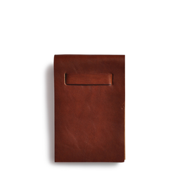 Eddie Handmade: Notepad In Honey Brown Small | Accessories,Accessories > Others -  Hiphunters Shop
