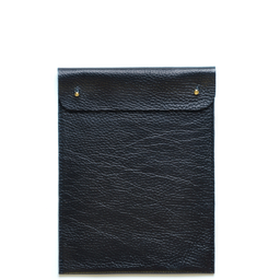 Eddie Handmade: TC13 Mini Tablet Case in Black | Accessories,Accessories > Technology -  Hiphunters Shop
