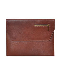 Eddie Handmade: Dorset Document Case in Honey Brown | Bags,Bags > Briefcases -  Hiphunters Shop