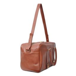 Eddie Handmade: Bader Holdall Textured Brown - Medium | Bags,Bags > Travel Bags -  Hiphunters Shop