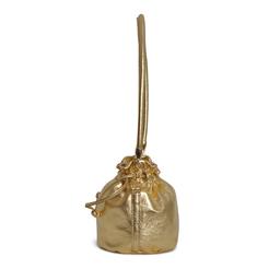 Eddie Handmade: Anna Mini Bucket in Gold | Bags -  Hiphunters Shop