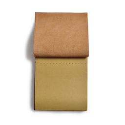Eddie Handmade: Notepad In Honey Brown Large | Accessories,Accessories > Others -  Hiphunters Shop