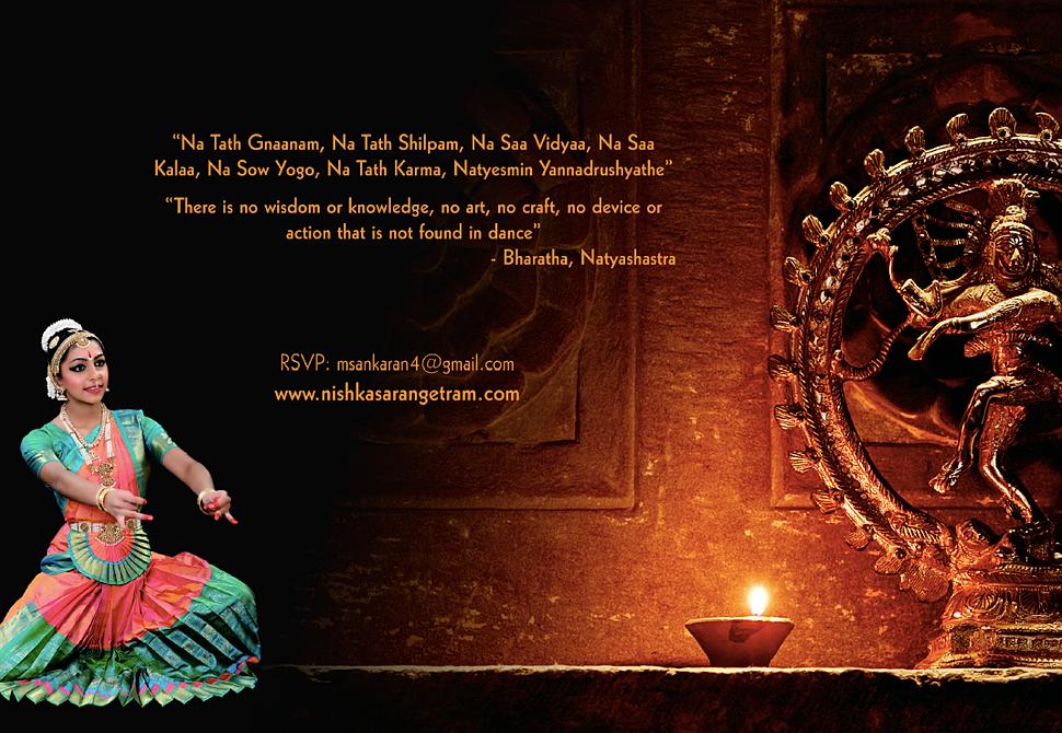 Bharatanatyam Arangetram Invitations images