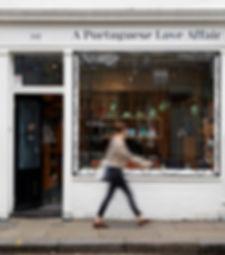 A Portuguese Love Affair shop on Columbia Road