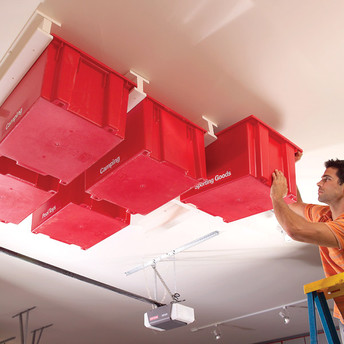 overhead bin storage