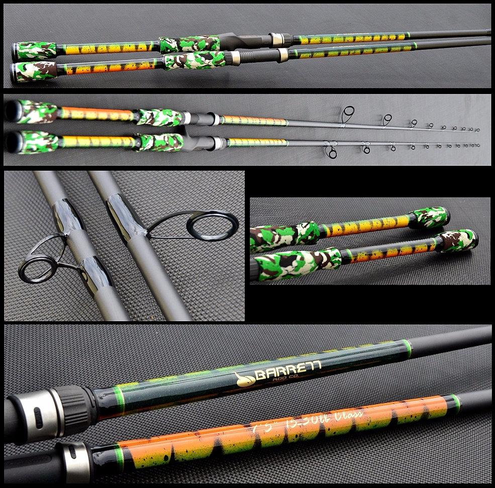 Custom inshore rods for Flair fishing rod