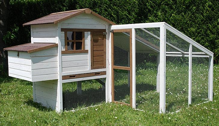 poulailler 4 5 poules avec extension. Black Bedroom Furniture Sets. Home Design Ideas