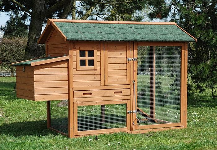 Poulailler 2 3 poules en bois prix discount for Prix d une poule